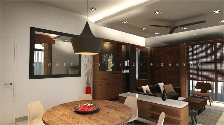 dining interior design shah alam malaysia