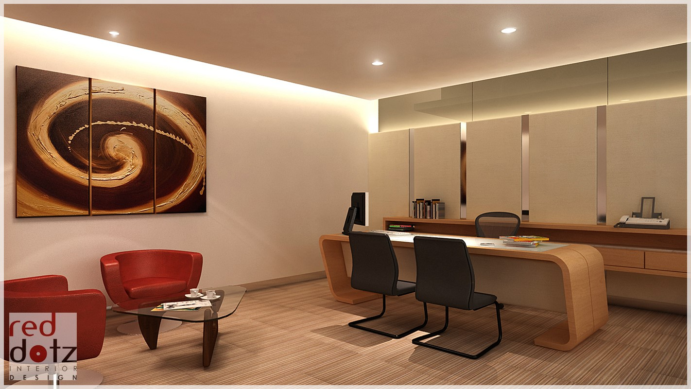 Office interior design ara damansara get interior design for Director office room design