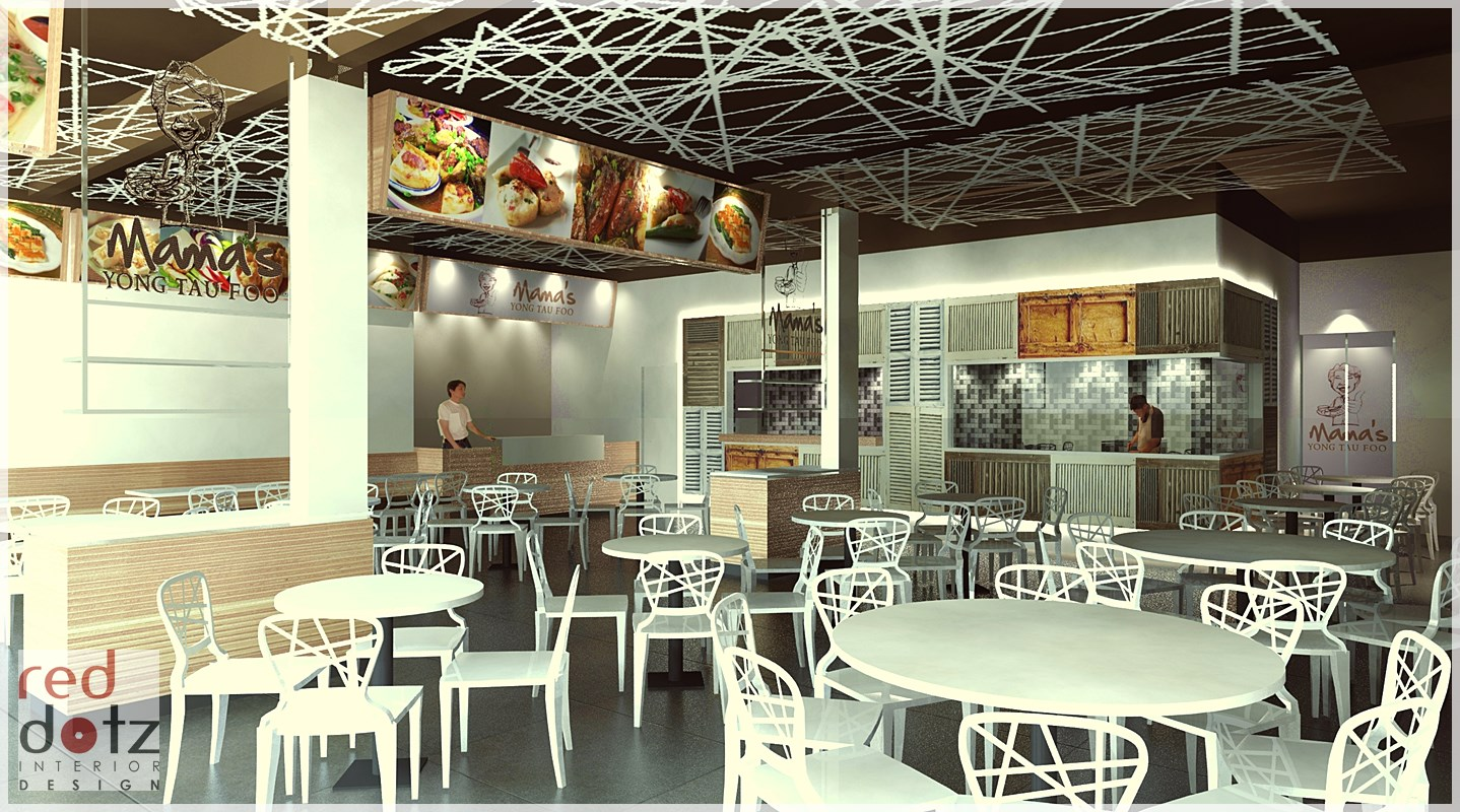 Restaurant interior design photo 01 get interior design for Make interior design online