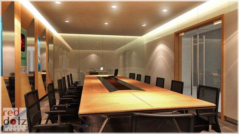Office meeting room interior design photo 4