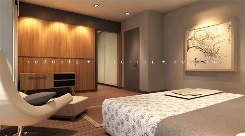 Setia Eco Park Master Bedroom Design 1