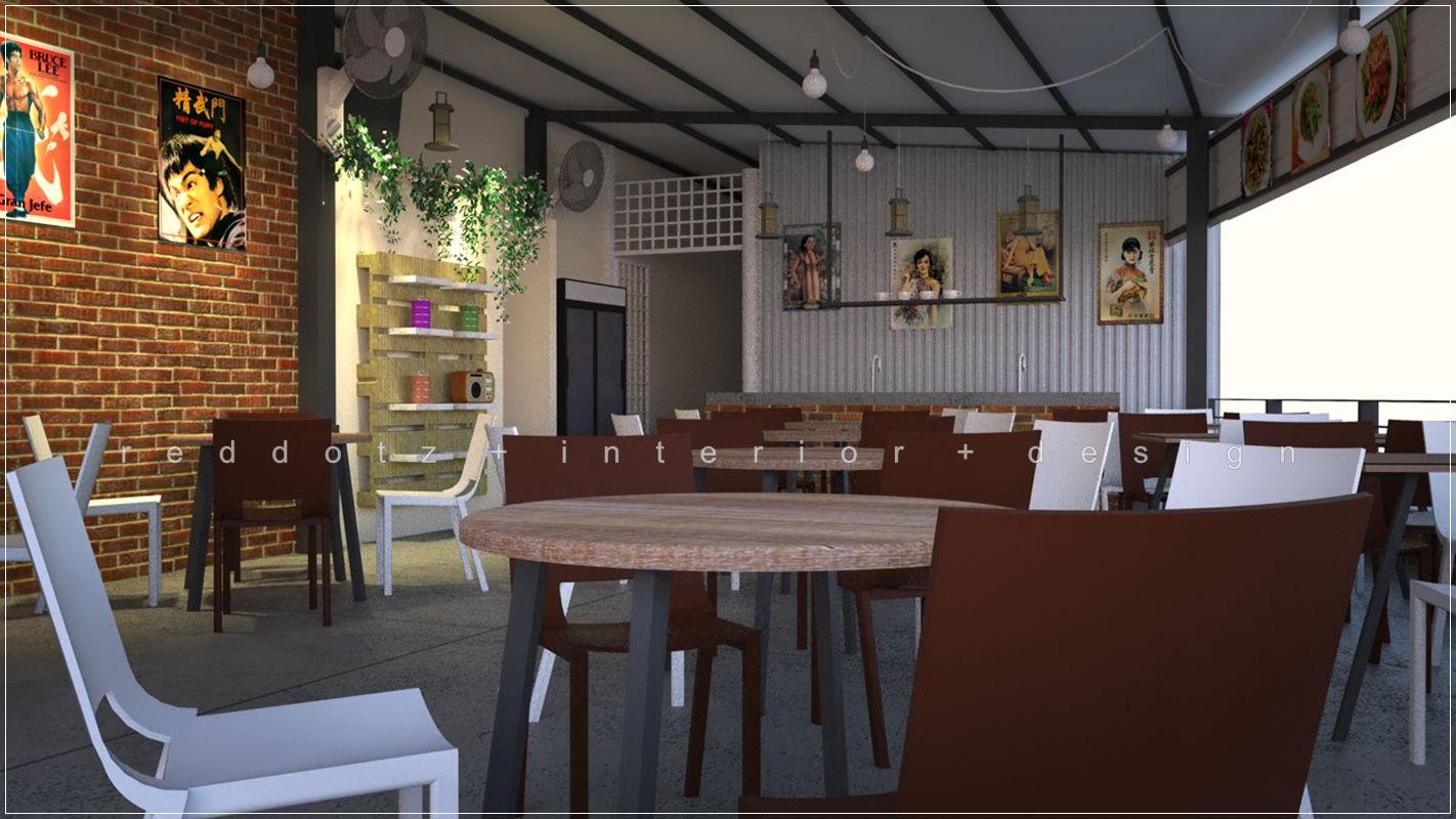 Serdang kopitiam restaurant 3d design malaysia get for Design a restaurant online
