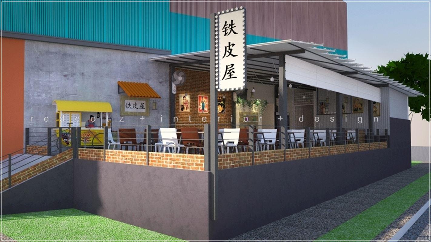 serdang outdoor restaurant design selangor