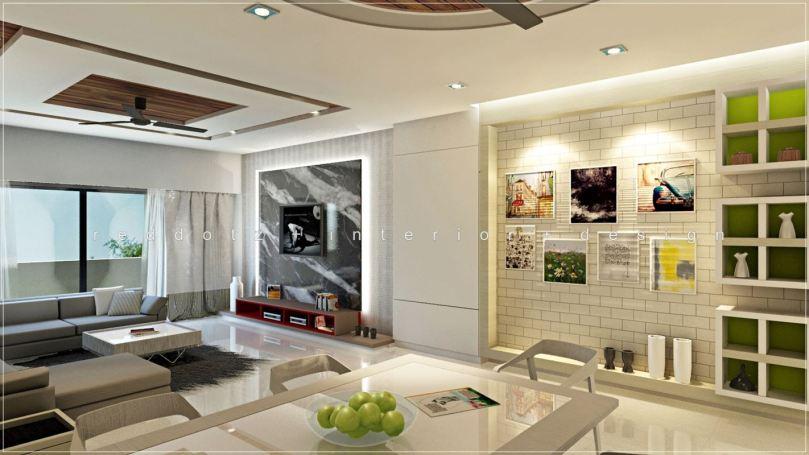 Sentosa Living Room Design Klang