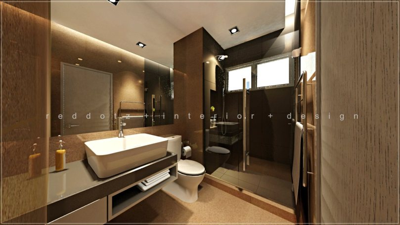 master bathroom design sunway kayangan