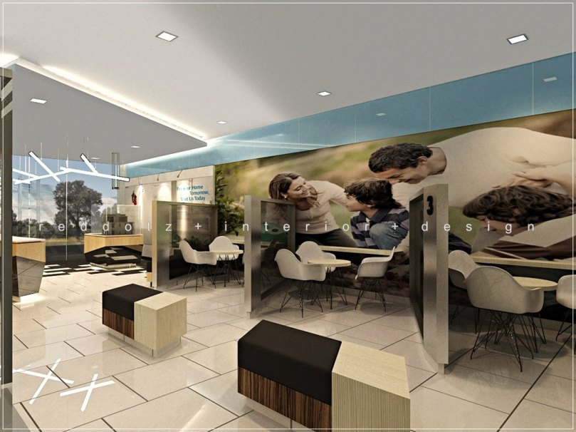 Property Show Office Discussion Area Design Malaysia