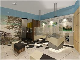 Property Show Office Display Area Design Shah Alam