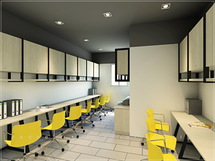 Property Show Room Office Area Design Shah Alam