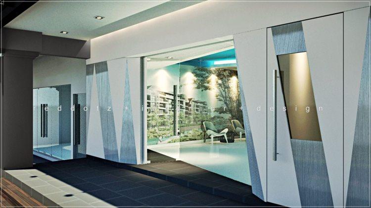 Property Show Office Facade Design Shah Alam