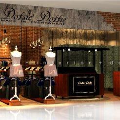 boutique fashion shop interior design Kuala Lumpur