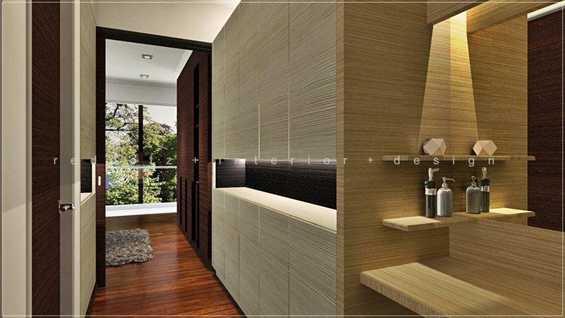 Walk In Wardrobe 3D Design Glenmarie Malaysia