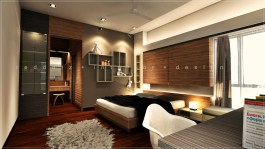 Parkland Home Master Bedroom 3D interior design Klang