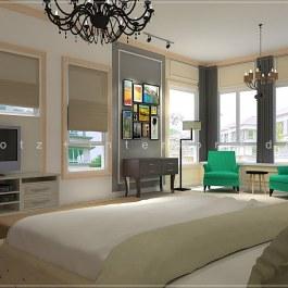 Rafflesia Damansara Perdana Master Bedroom Study Lounge Design