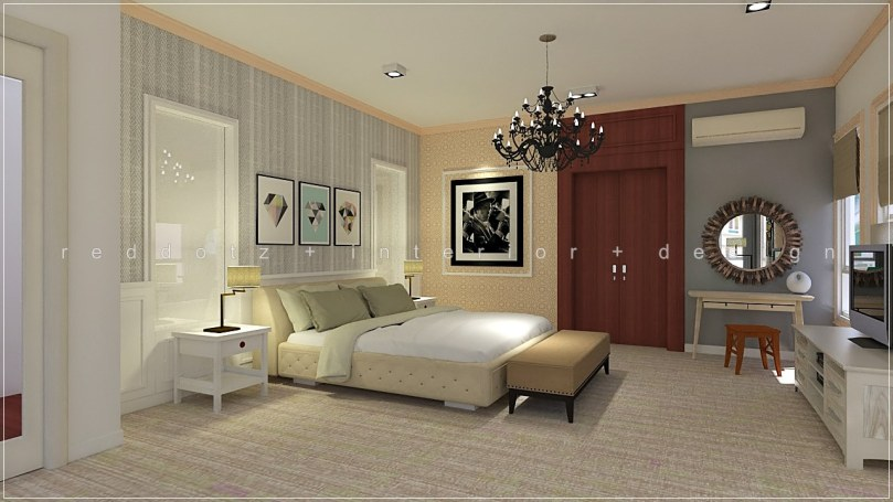 Rafflesia Damansara Perdana Master Bedroom Dressing Table Design