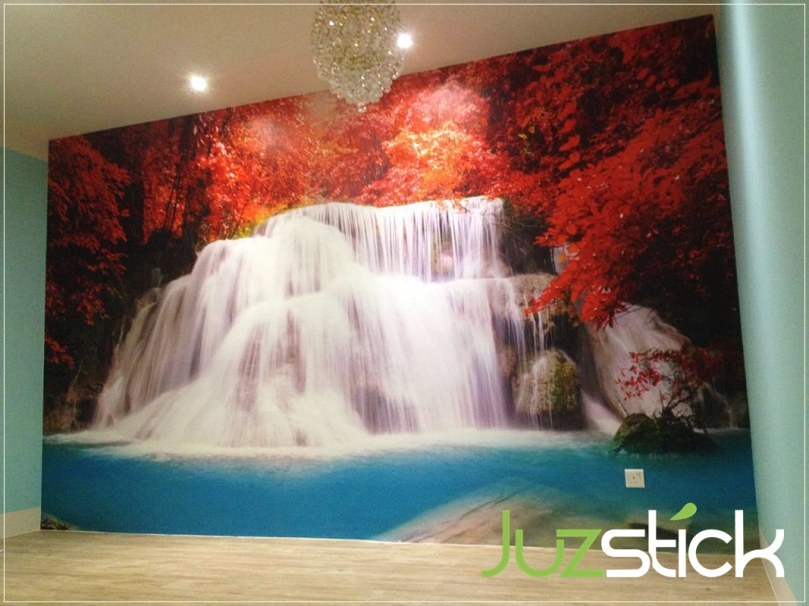 Juzstick Wall Mural Feature Wall Design Puchong Subang