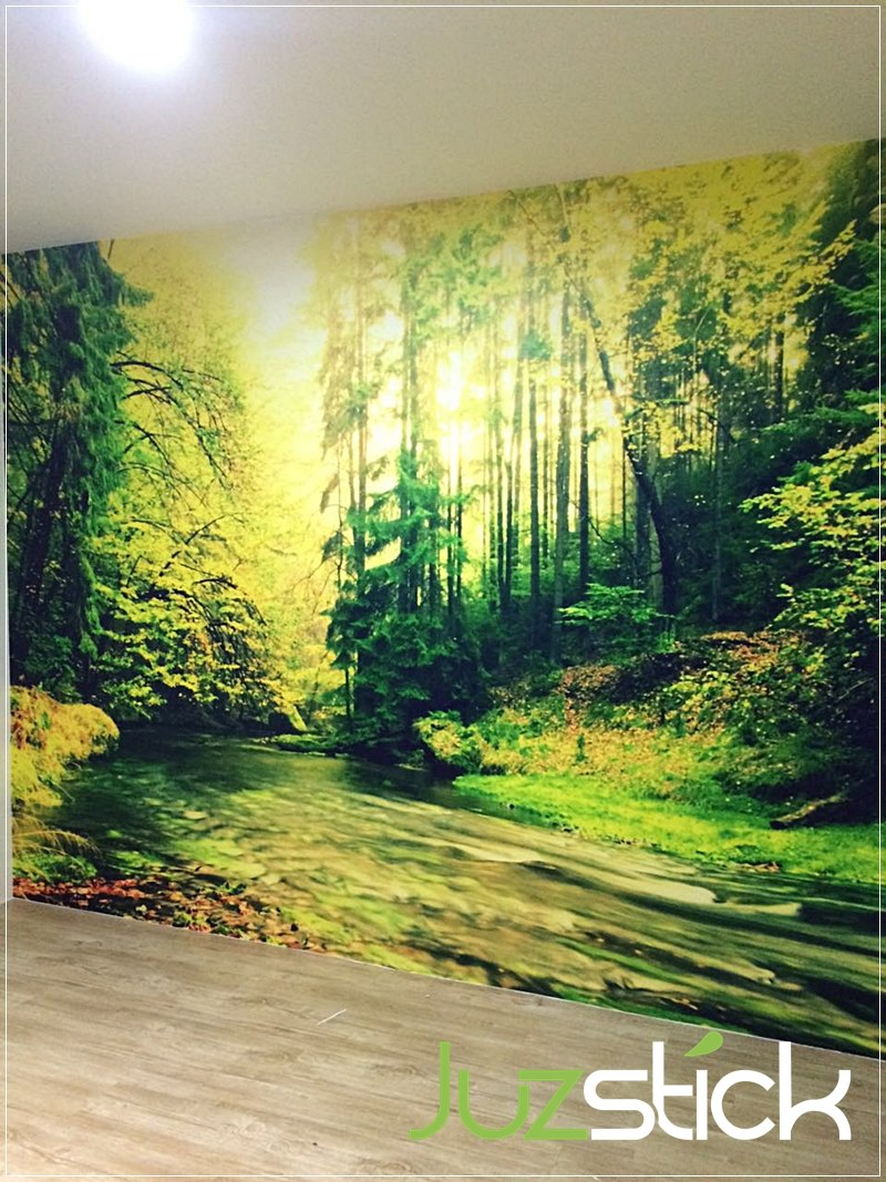Juzstick Wall Mural Feature Wall Design Klang