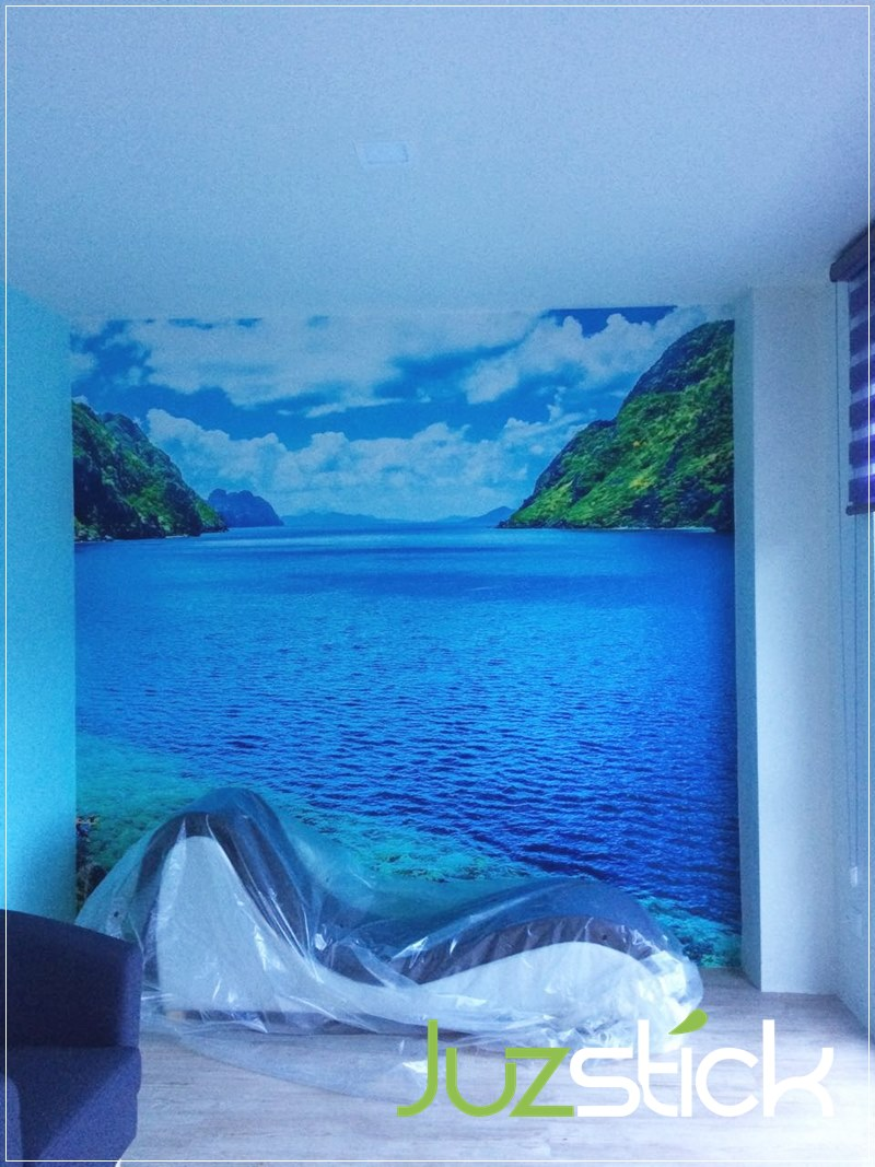Juzstick Wall Mural Feature Wall Design KL