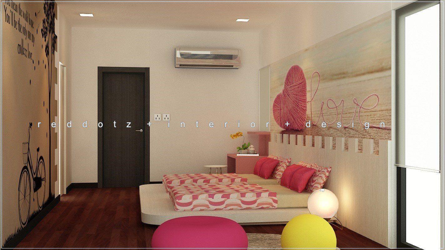Kids Children Bedroom Design 3D Setia Alam Malaysia
