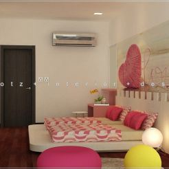 Kids Children Bedroom Design 3D Setia Alam Malaysia