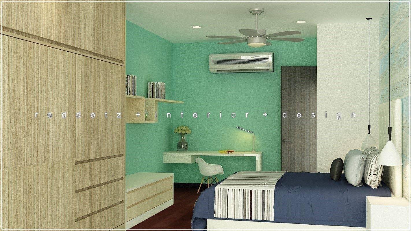 Modern Theme Bedroom Interior Design Shah Alam