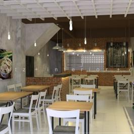 SS15 simple chicken rice restaurant interior design Malaysia