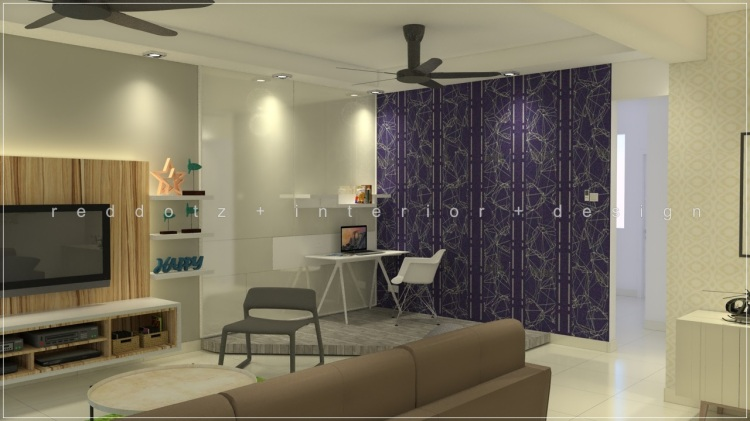 study area interior design malaysia