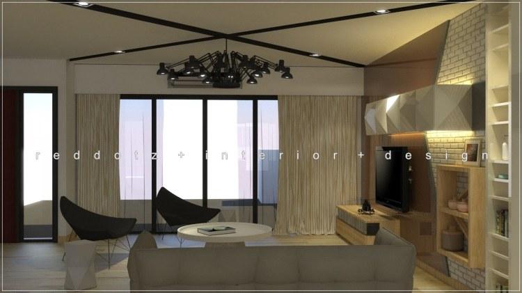 Industrial Living Area Design Malaysia