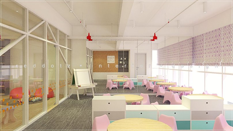 children class room design malaysia