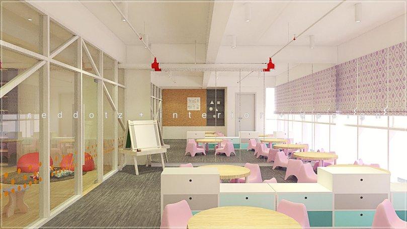 children class room design malaysia