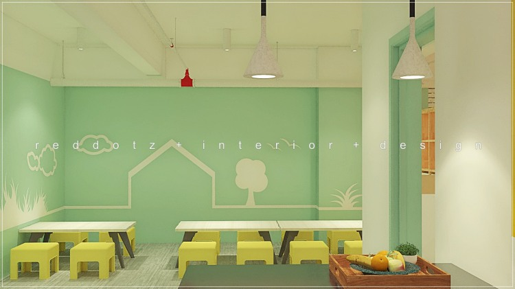 children center kitchen design malaysia