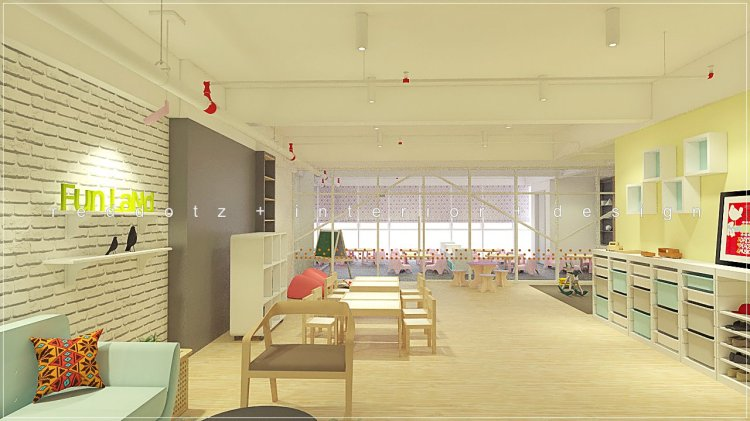 kids education center design malaysia