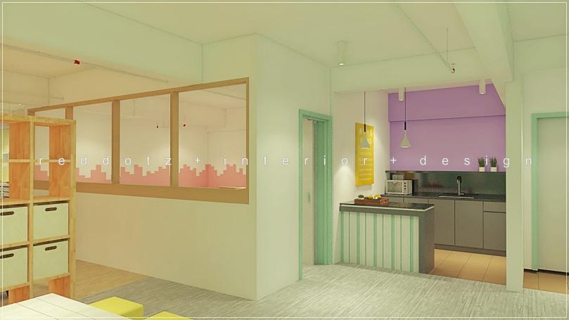 kids center pantry design malaysia