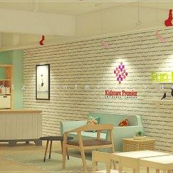 child care center reception design malaysia