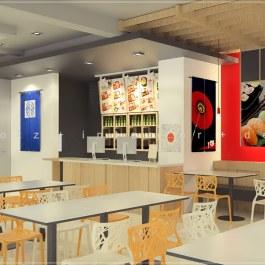 atami bento japanese cafe menu design malaysia