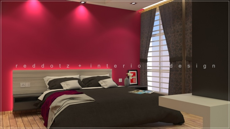 Bandar Bukit Raja Master Bedroom Design