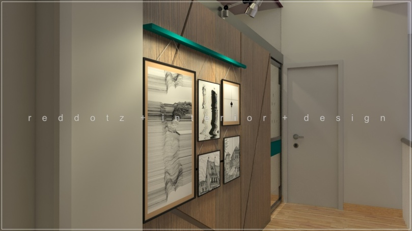 photo gallery design at family area