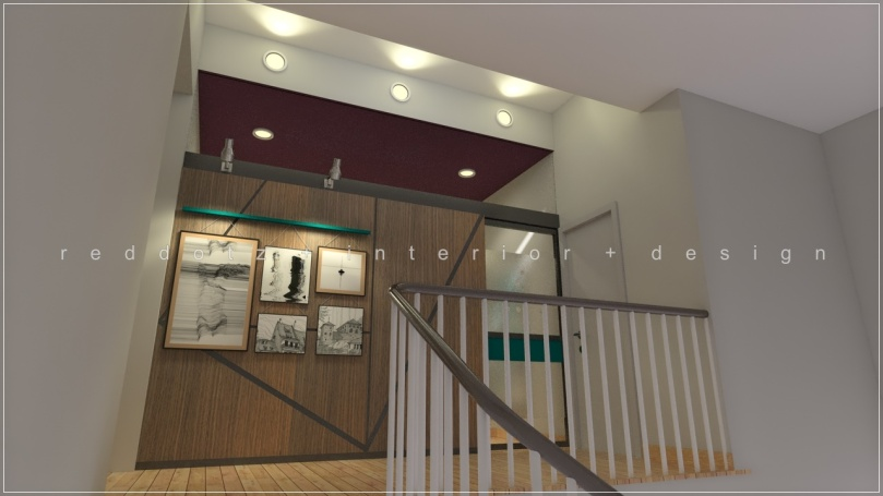 first floor family area design