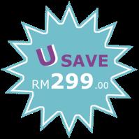 You Save 299