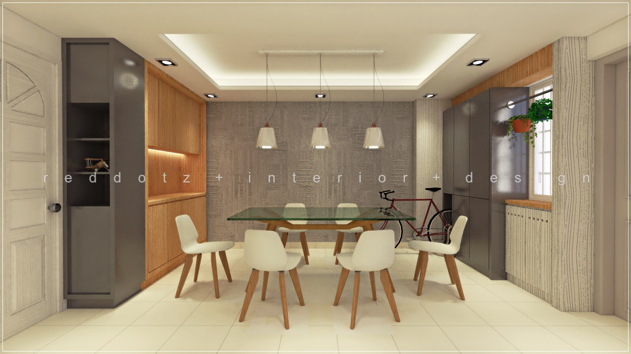 HDB Dining Area Design Singapore