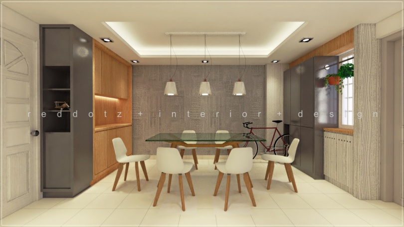 HDB Dining Area Design Singapore