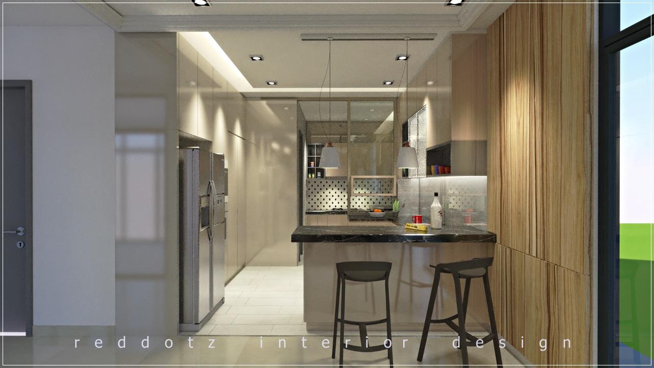kitchen bar counter design Malaysia