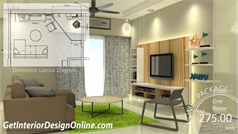 freelance interior design malaysia price