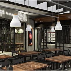Japanese Restaurant Front Entrance Design Malaysia