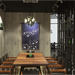 Japanese Restaurant VIP Room Design Malaysia