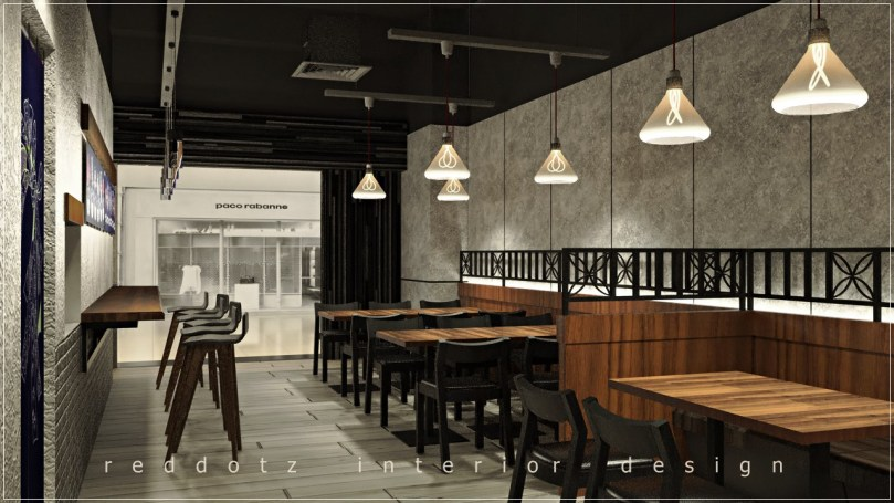Japanese Restaurant Dining Table Design Malaysia