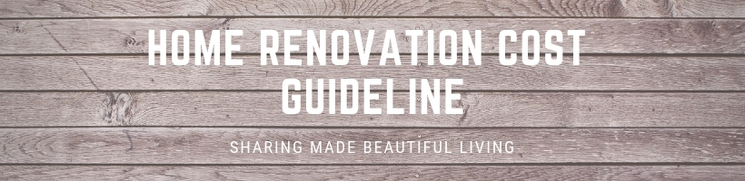 Home Renovation Cost Guideline Malaysia