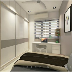 condominium guest room design puchong