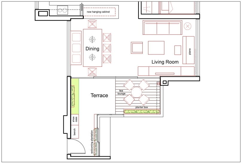 Lush Executive Condominium Layout Plan