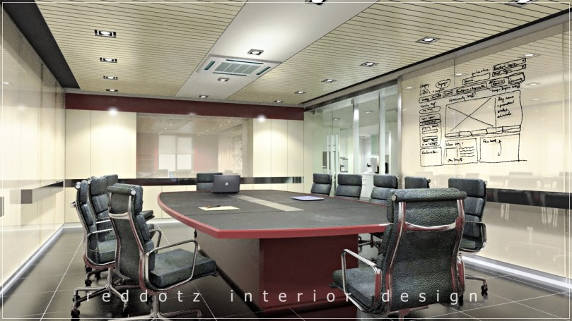 Mont Kiara Office Meeting Design Concept