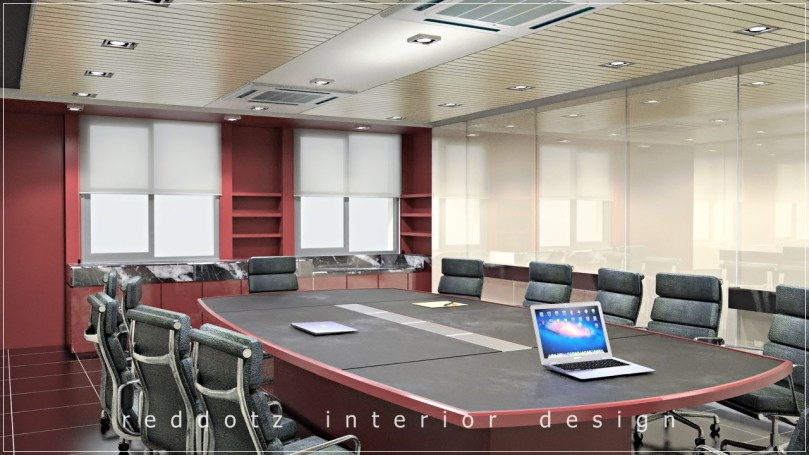 Mont Kiara Office Conference Room Design Concept